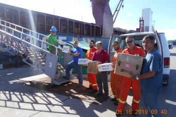 American Merchant Marine Library (AMMLA) Book Delivery